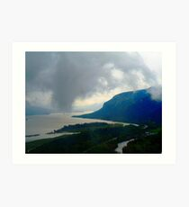 Columbia Gorge 1 Art Print
