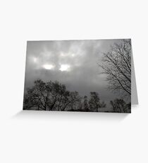 Eyes in the Sky Greeting Card