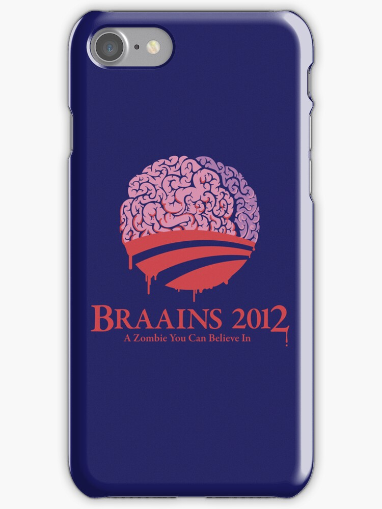 Vote Braains 2012 - A Zombie You Can Believe In! by Vincent Carrozza