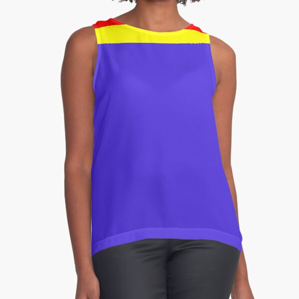 Colorful Smartie Sleeveless Top