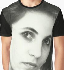 Daniela in black and white Graphic T-Shirt
