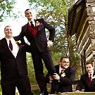 Groom and his boys by Erica Sprouse