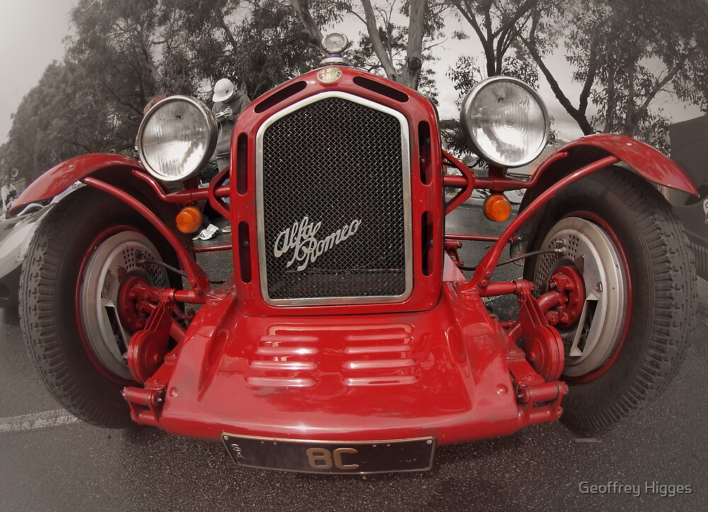 Alfa Romeo Monza Rep 1929 by Geoffrey Higges