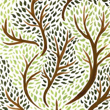 Trees by laurendraghetti
