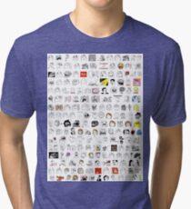 Meme Collage Tri-blend T-Shirt