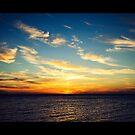 'South Beach Sunset' II by Glenn Stephenson