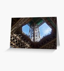 Eiffel Tower, Paris, France Greeting Card