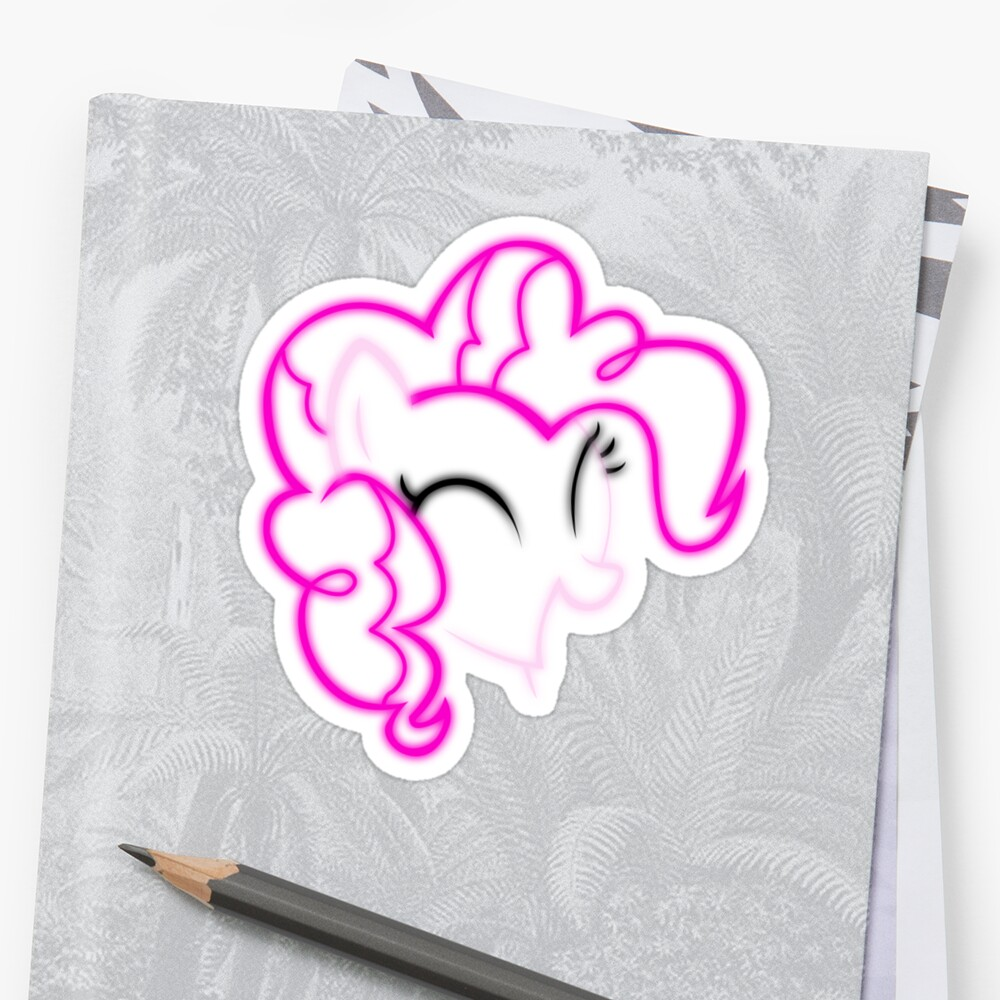Neon Pinkie Outline by LcPsycho
