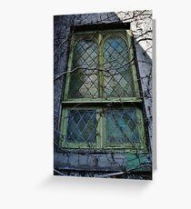 Windows Are Souls For The Eyes Greeting Card