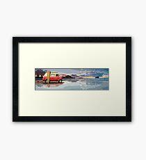 Surf Aotearoa Framed Print