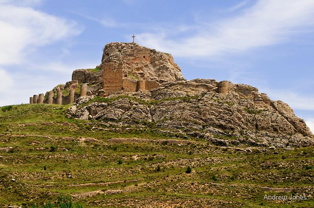 Aliaga Castle, Maestrazgo, Aragon, Spain by Andrew Jones