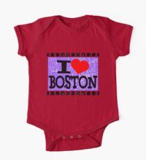 I love Boston One Piece - Short Sleeve
