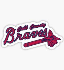 Braves Sticker
