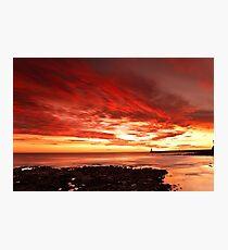 Tynemouth Sunrise Photographic Print