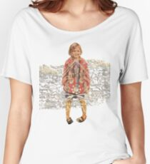 Happy Groovy Girl Women's Relaxed Fit T-Shirt