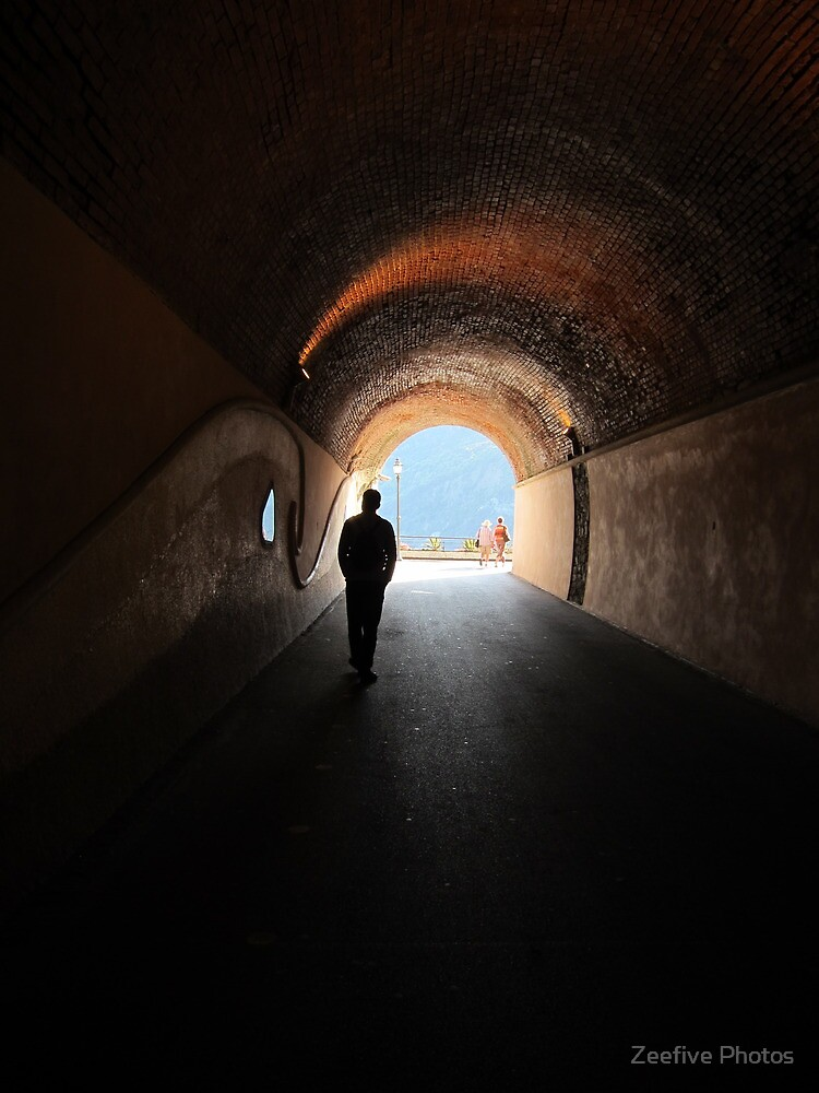 Old Monterosso tunnel by Zeefive Photos