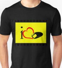 I love mouse Unisex T-Shirt