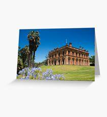 Martindale Hall, Mintaro, South Australia Greeting Card