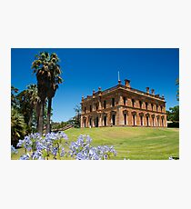 Martindale Hall, Mintaro, South Australia Photographic Print