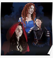Warrior Women of Once Upon a Time Poster