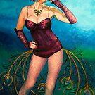 """Pride - A Deadly Sin (oil on canvas) 60 x 40"""" by Janne Kearney"""