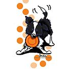 Border Collie @ Play iPhone/iPod Case by offleashart