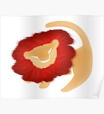 Adult Simba  Poster