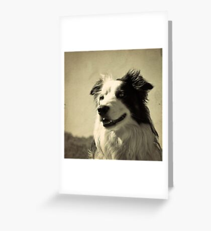 Old Feel Greeting Card