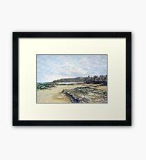 St. Andrews from the shore Framed Print