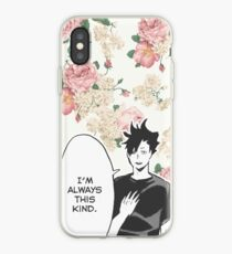 Haikyuu!! Kuroo Quote (Option 1) iPhone Case