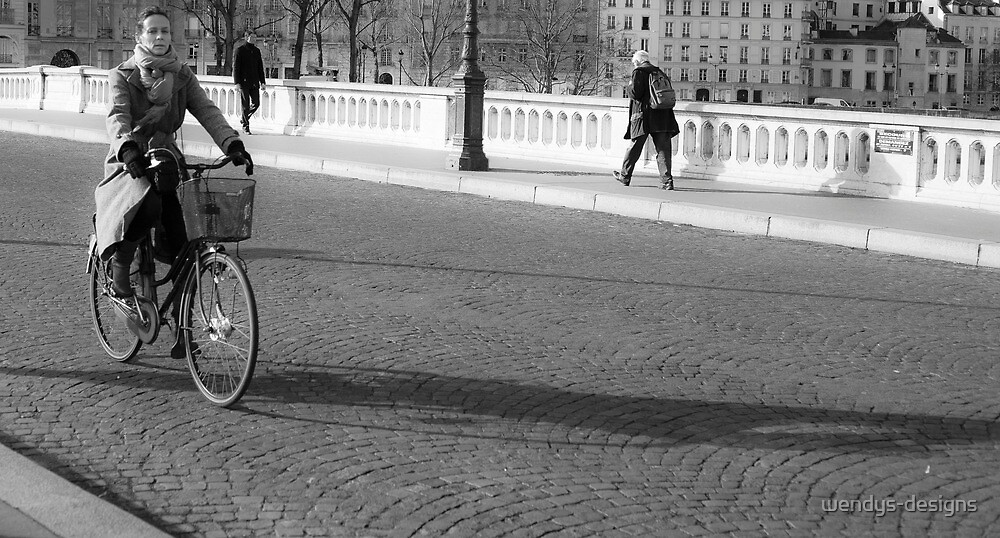 the cliched bicycle  shot,,,, by wendys-designs