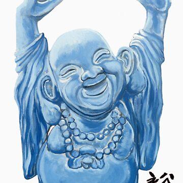 Abundance Buddha by donnaroderick