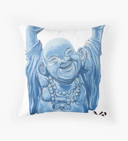 Abundance Buddha Throw Pillow