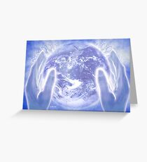 Heal the Earth Greeting Card