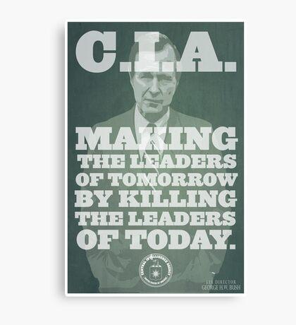 C.I.A. Leaders of Tomorrow Canvas Print