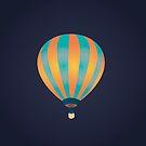 Hot Air Balloon by keenanzucker
