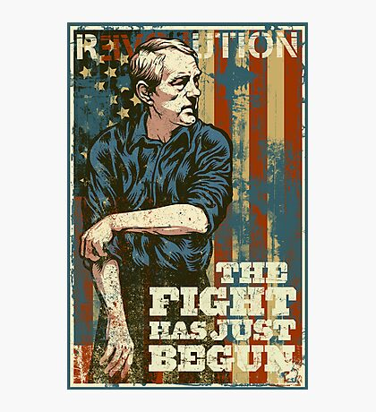 The Fight Has Just Begun Photographic Print