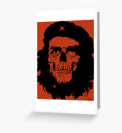 Revolución de la Muerte Greeting Card