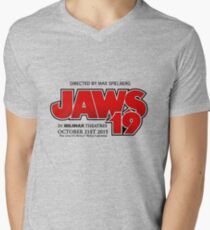 Jaws 19 Men's V-Neck T-Shirt