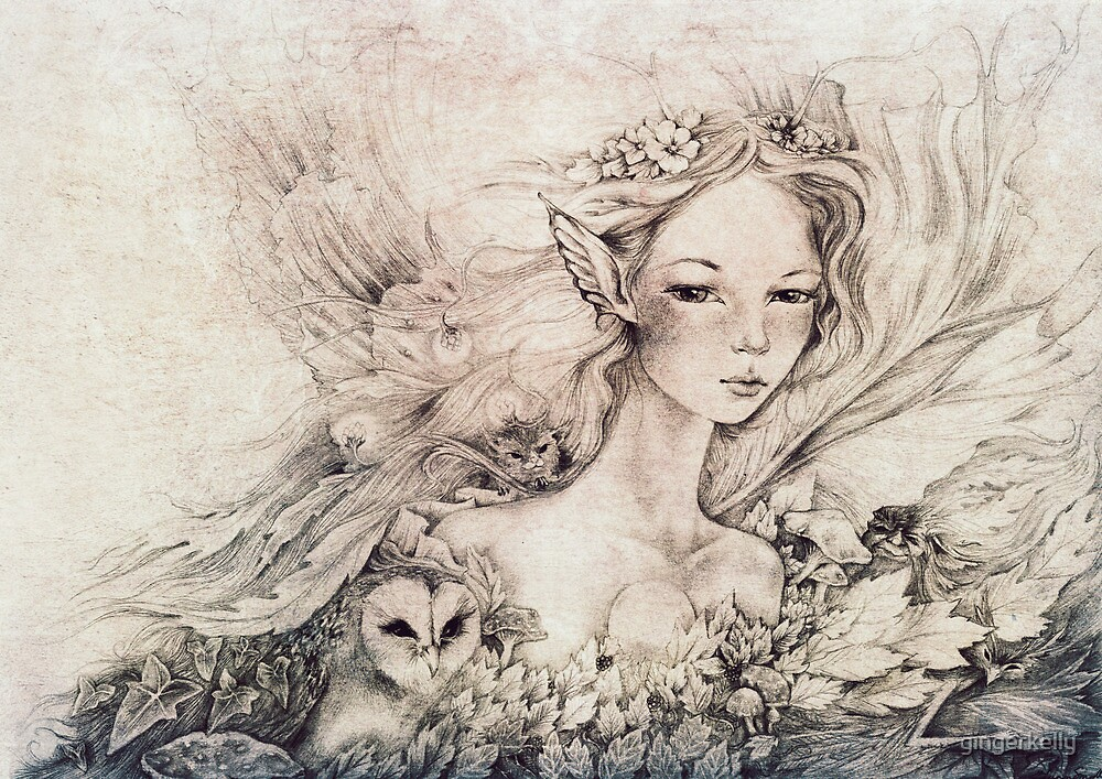 Titania's Daughter II by gingerkelly