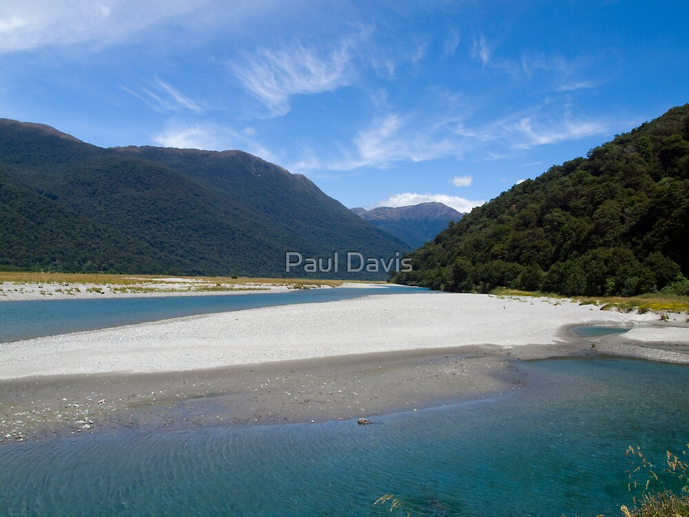 Mount Aspiring National Park by Paul Davis