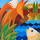 THE FOX AND THE FISH by Thomas Andersen