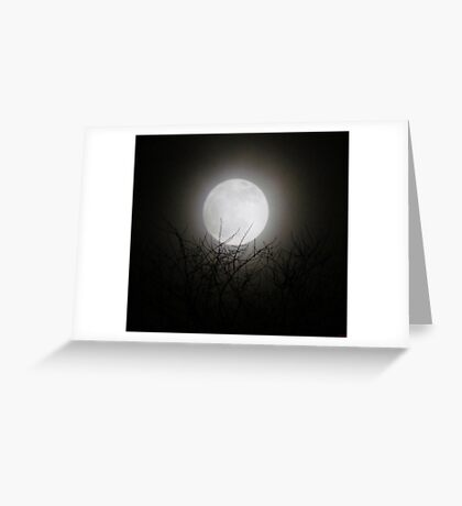 1st Full Moon of The new Year~!!!!!! Greeting Card