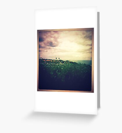 Guide this sailor back to land ~ Postcards from the edge Greeting Card