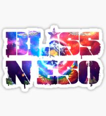 Bliss N Eso - Circus In The Sky Sticker