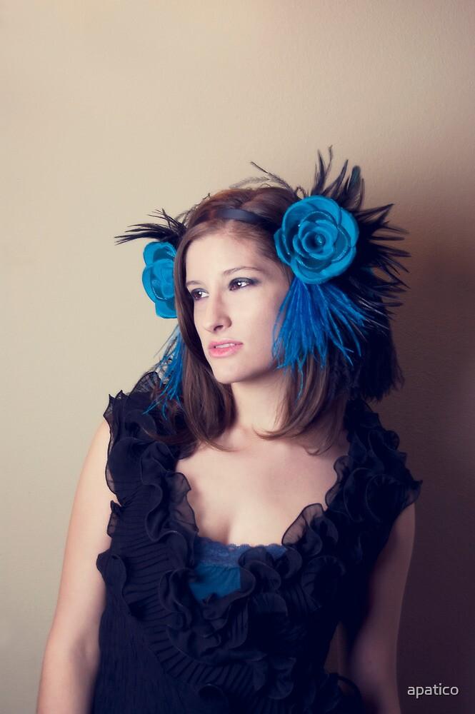 Ahnna In Blue by apatico
