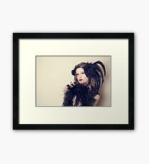 Ahnna Noir Framed Print