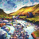 Summer Creekbed by Dan Wilcox