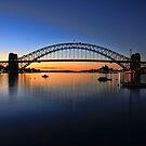 Sydney Opera House and the Harbour Bridge  by Arfan Habib