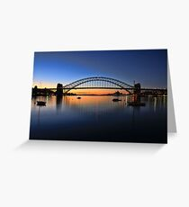 Sydney Opera House and the Harbour Bridge  Greeting Card